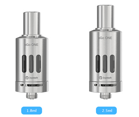 joyetech ego one cl atomizer 2choices of capacity 1.8ml/2.5ml