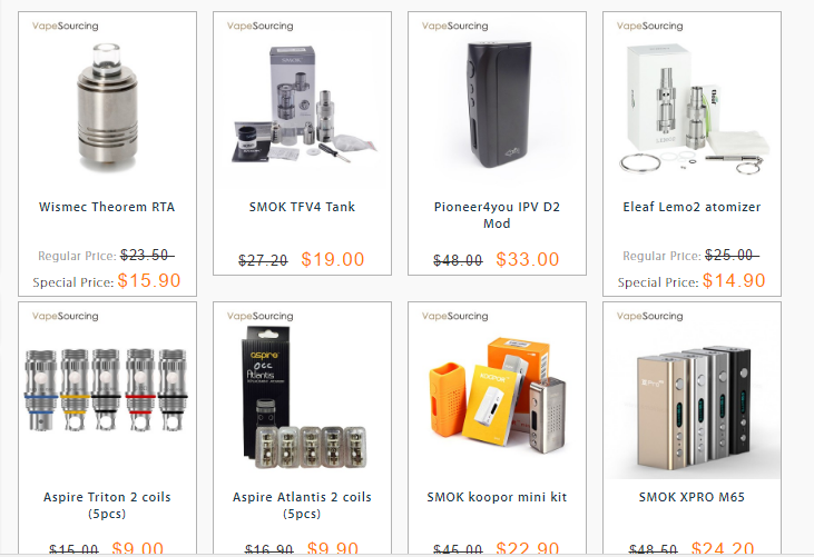 flash sale in vapesourcing
