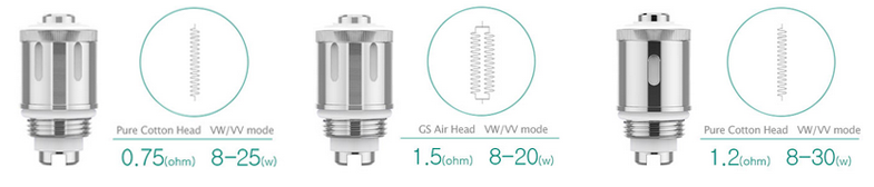 Eleaf GS Air 2 atomizer heads