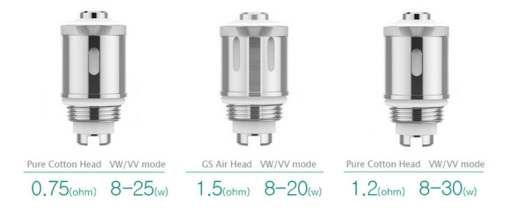 the coils for Eleaf iStick GS Air 2 Atomizer