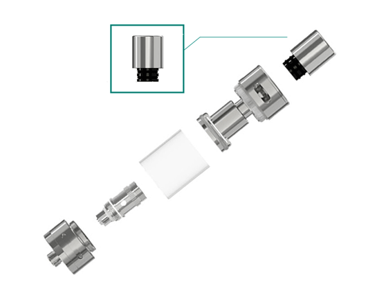 eleaf melo 2 mouthpiece in vapesourcing