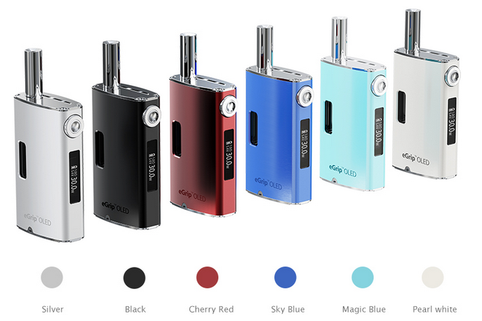 the colors of joyetech egrip oled kit