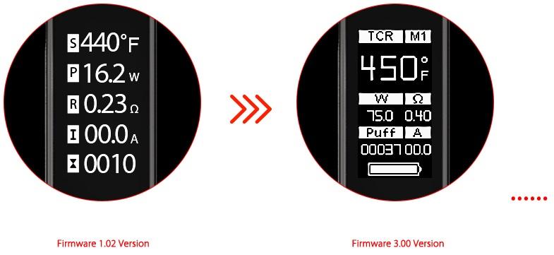 buy Wismec Presa TC 75W Battery