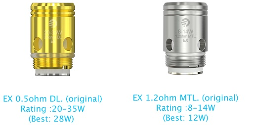 Coil for Joyetech Exceed Box with Exceed D22C Kit