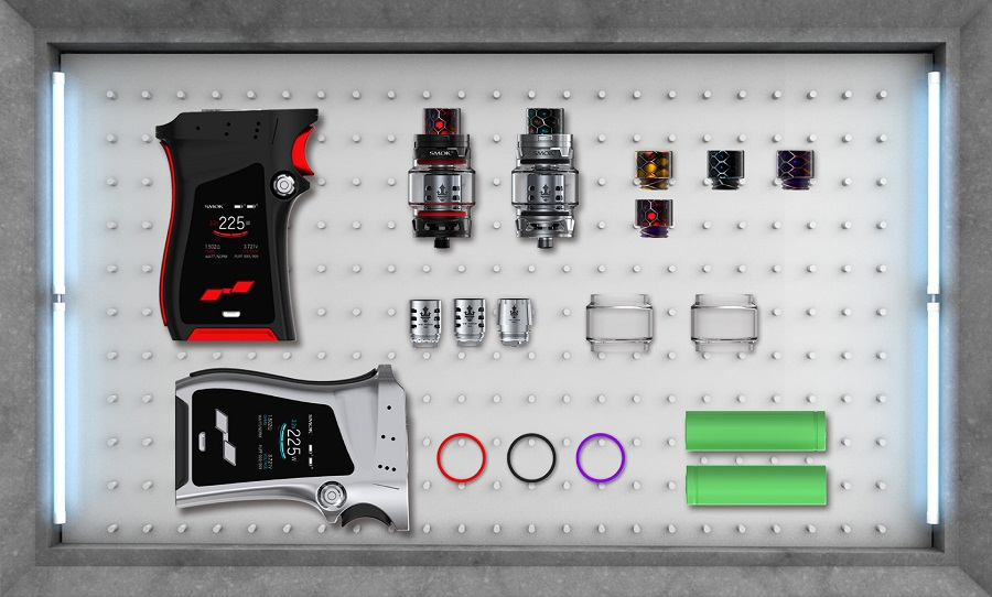 Smok mag tc box mod 225w vapesourcing for Exquisit mode