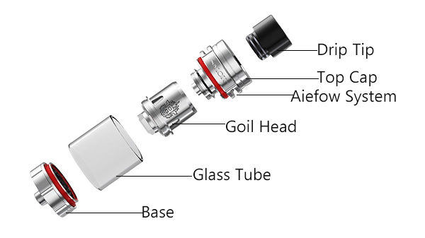structure of smok x baby tank