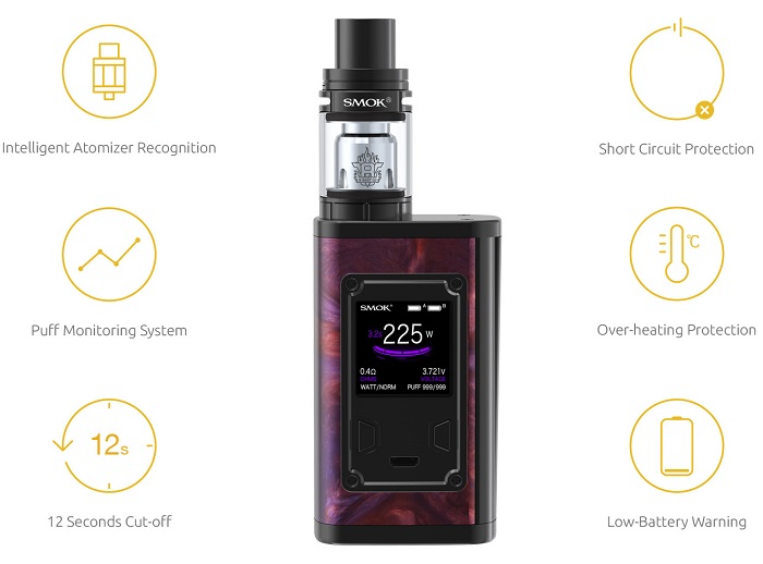 SMOK Majesty Resin Edition Kit review