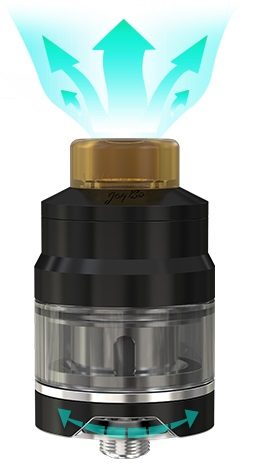 Wismec GNOME Sub Ohm Tank with huge vapor