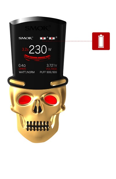 powerful SMOK S-PRIV Kit