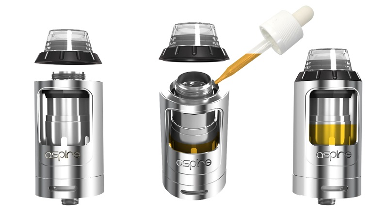 Top Filling of Aspire Athos Tank