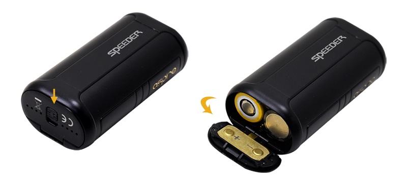 Aspire Speeder 200w battery