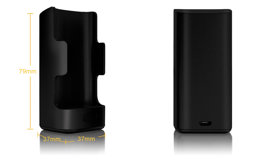 black Aspire Breeze Charging Dock