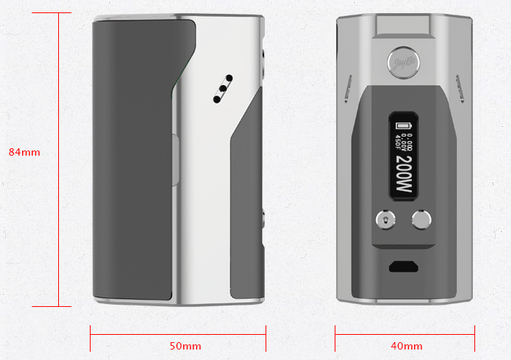 the parameter of wismec Reuleaux 200W