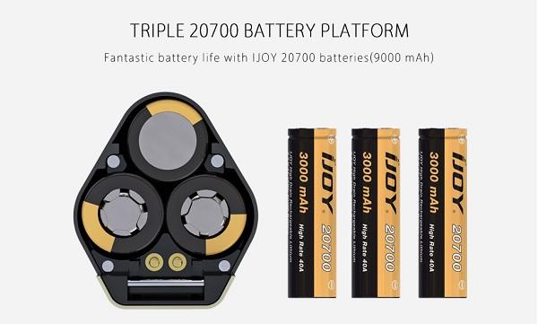 IJOY Captain X3 Battery