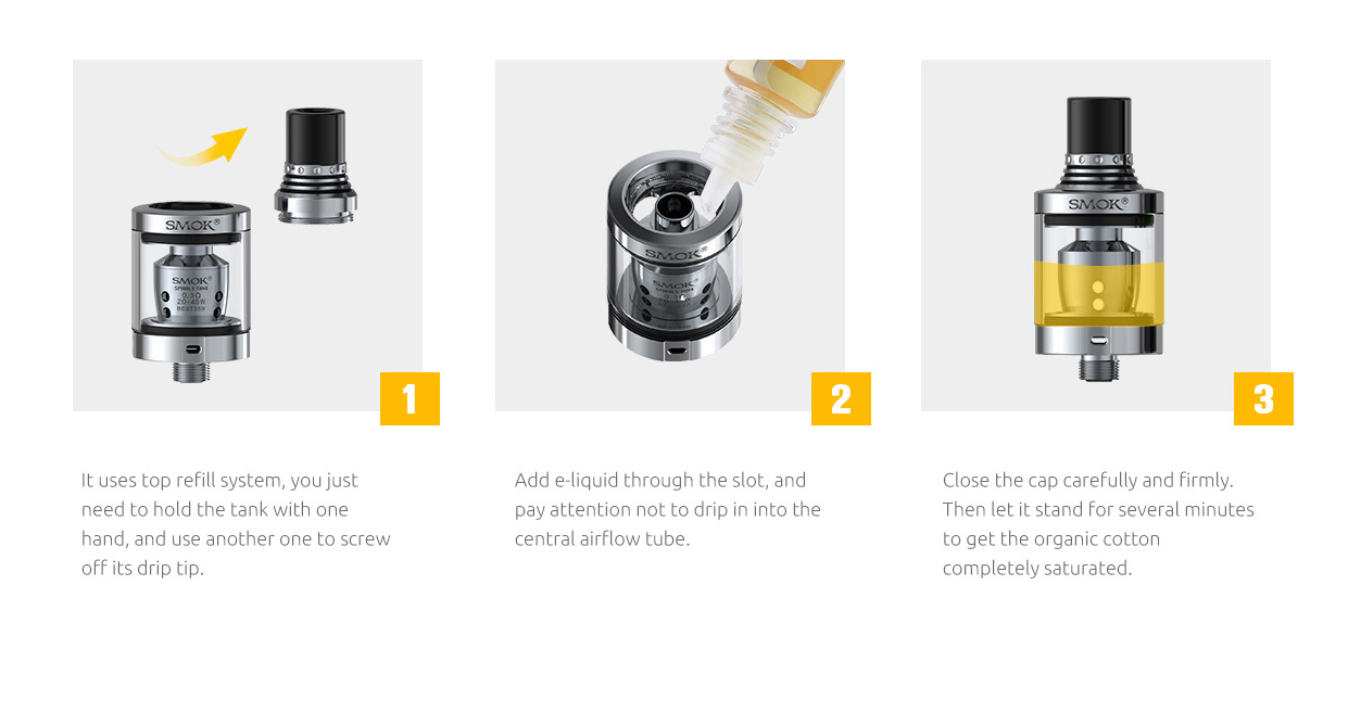 Smok Spirals Plus Tank in Vapesourcing