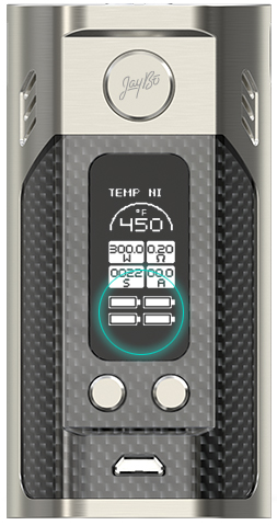 buy new Wismec Reuleaux RX300 TC box Mod-Carbon Fiber
