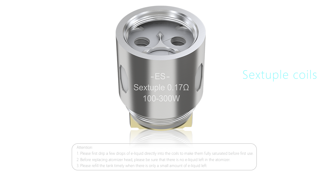 Eleaf ES Sextuple-0.17ohm Heads