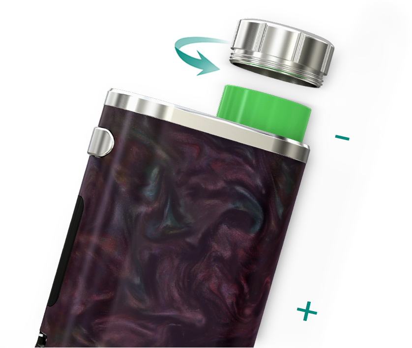 iStick Pico RESIN with MELO III Mini in Vapesourcing