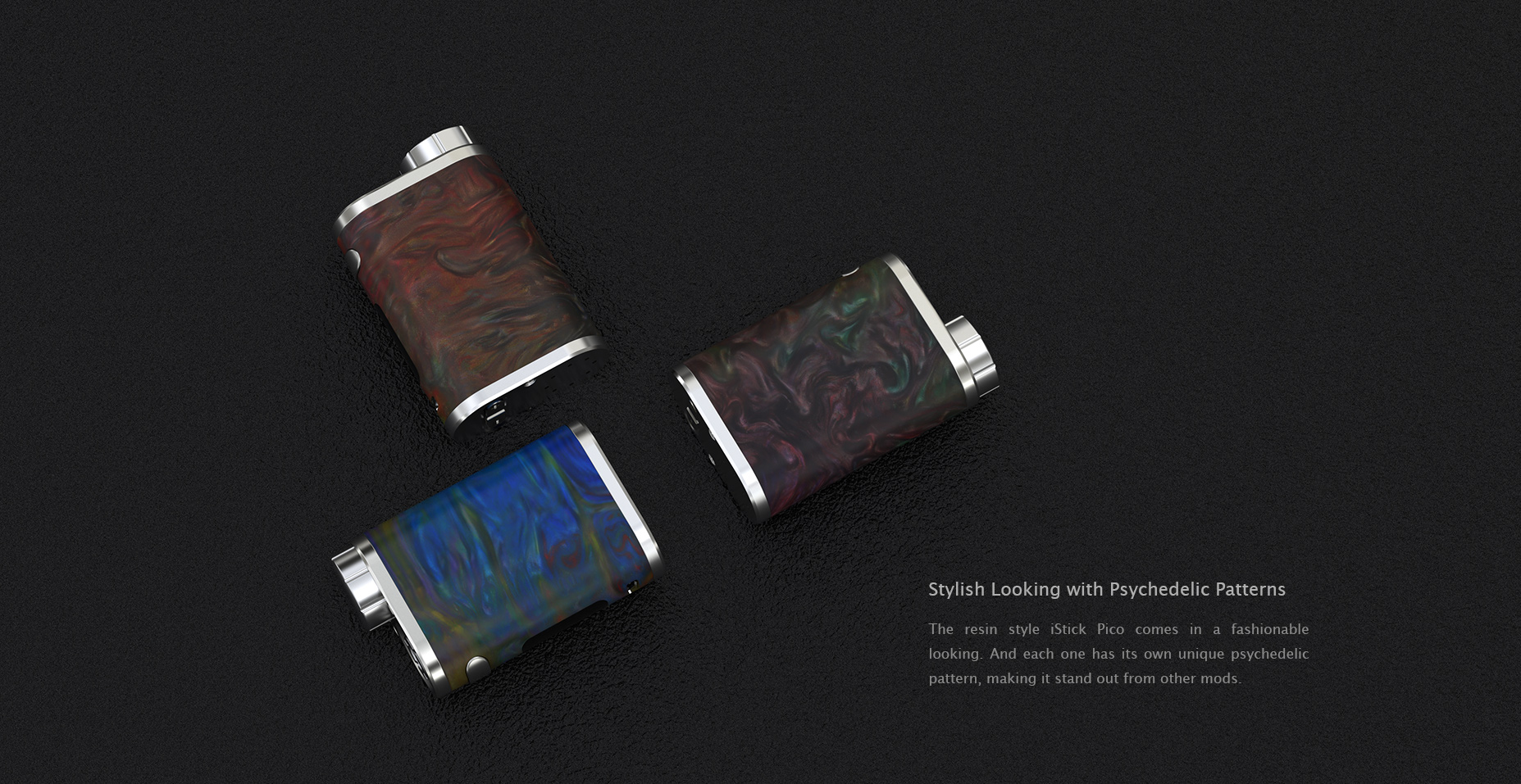 Eleaf iStick Pico RESIN Battery Kit in Vapesourcing
