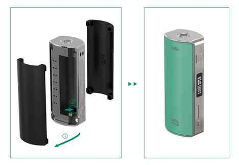 Being replaceable and colorful, the front and back magnetic covers are designed for ease of switching your 18650 cell and changing the covers into a different color. There are six attractive colors for you to choose from: black, white, teal, blue and grey.