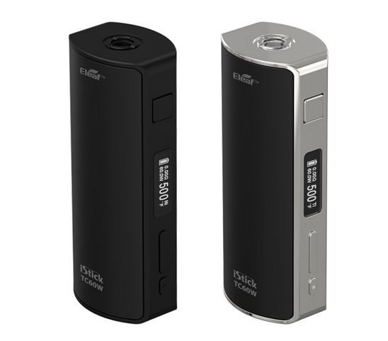 is the innovative temperature control iStick from Eleaf. Both TC and regular VW mode available with max 60W output. It comes with Melo 2 atomizer.