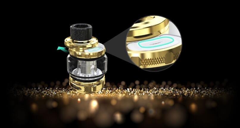 Wismec Trough tank top filling