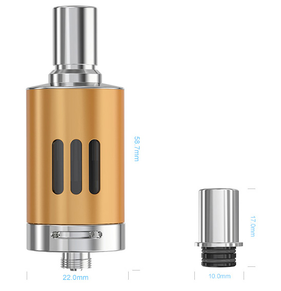 the parameter od ego one mega vt atomizer