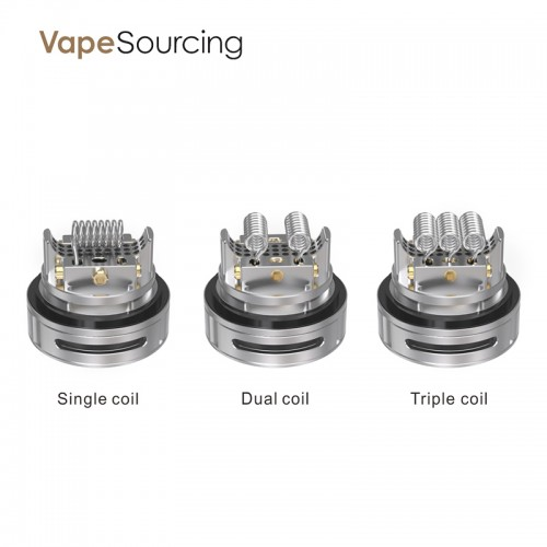 Triple V2 RTA with three coil