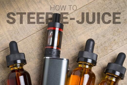 how to steep the e-juice